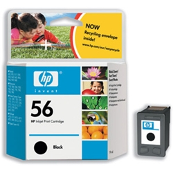 Hewlett Packard [HP] No. 56 Inkjet Cartridge